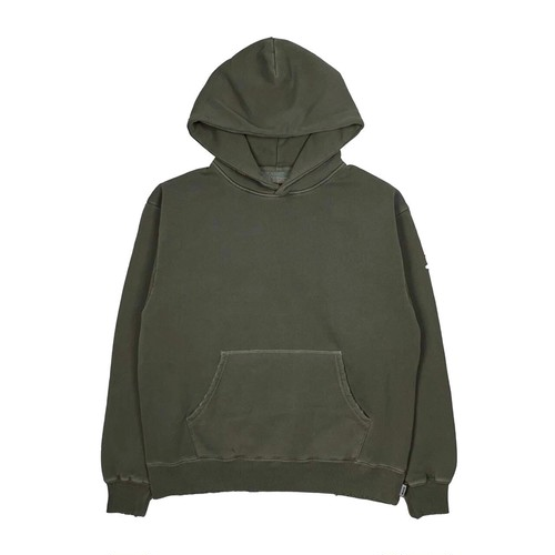 MFC STORE PIGMENT DAMAGE HOODED / KHAKI