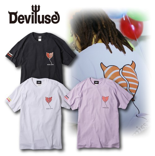 Deviluse(デビルユース) | miss you T-shirts
