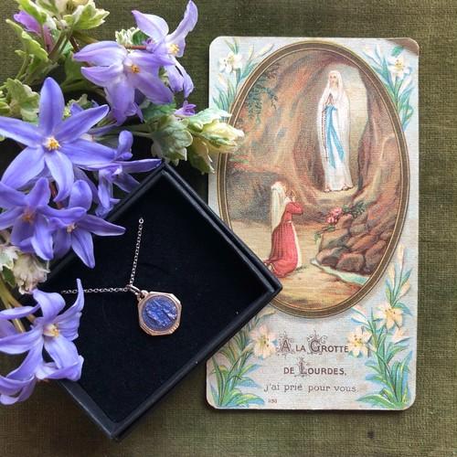ルルドの聖母のカードとメダイ