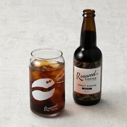 【オリジナルグラフィックプリント】Roasted Coffee LABORATORYオリジナルビール缶型グラス(Roasted COFFEE LABORATORY/ローステッドコーヒーラボラトリー)