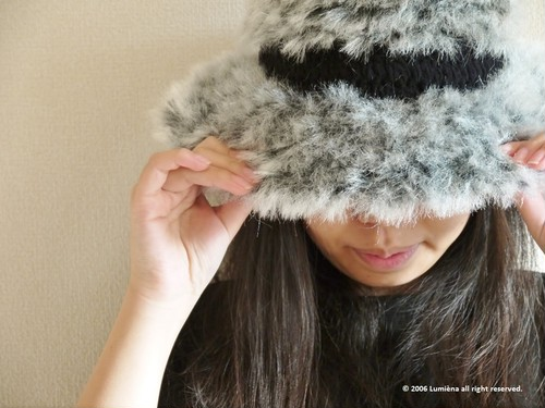 Crochet Fluffy Hat