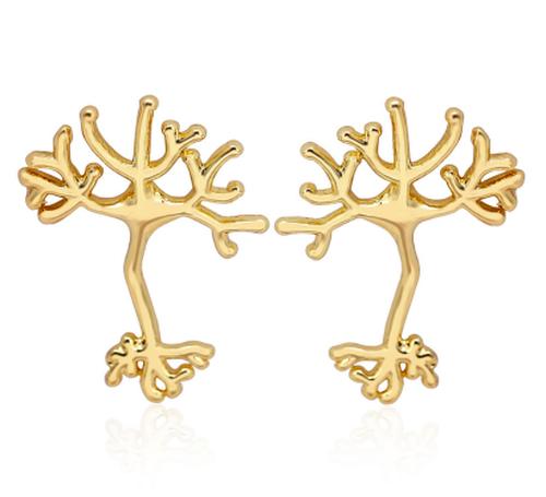 Neuronピアス カラー:ゴールド