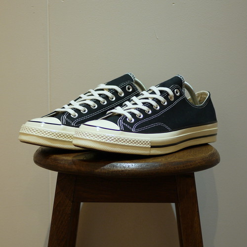 "CONVERSE Chuck Taylor 1970S (CT 70 LOW) Size5,9 ""Black,Dead Stock"""