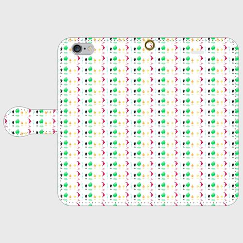 #001-029 iPhone8対応 オリジナルデザイン《Haro.》手帳型iPhoneケース・手帳型スマホケース 全機種対応   作:柑澤智蔭 Xperia ARROWS AQUOS Galaxy HUAWEI Zenfone