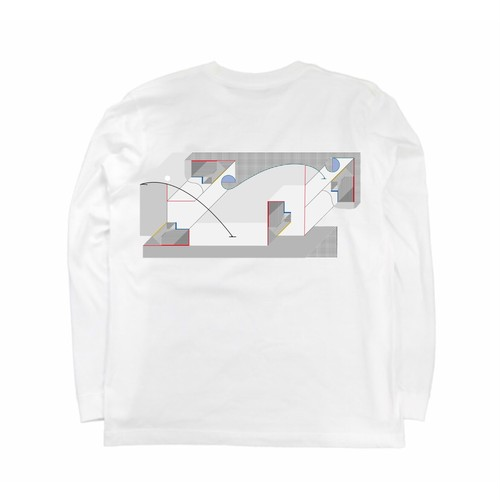 "arne ""cubic"" long T-shirt"