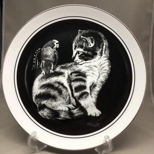 【再入荷】英国 ロイヤルコーンウォール社 Talk To Me No.4 子猫のプレート 1979年