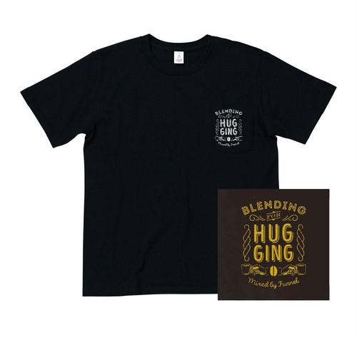 DJ FUNNEL 「Blending For Hugging」CD + Pocket T-shirts(Black)
