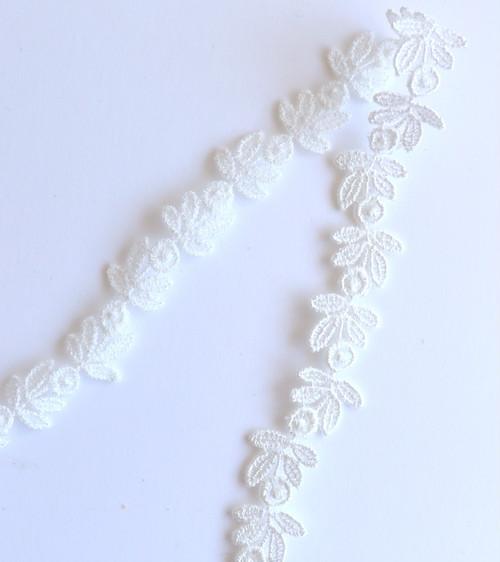 ケミカルレースⅳ ホワイト [MOKUBA] 50cm単位