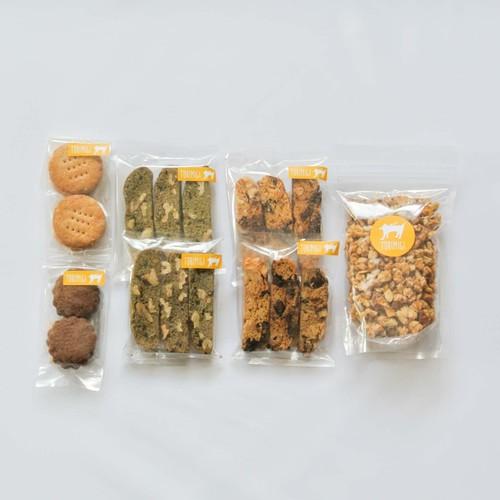 ◎ちょうどいいクッキーセット(ビスケット・ビスコッティ・グラノーラ) 4月26日(金)発送