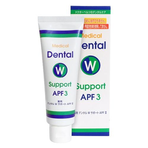 ドクターベルツ 薬用デンタルWサポートAPF3