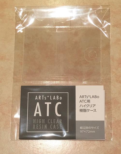 ATC用ハイクリア樹脂ケース 1枚入り
