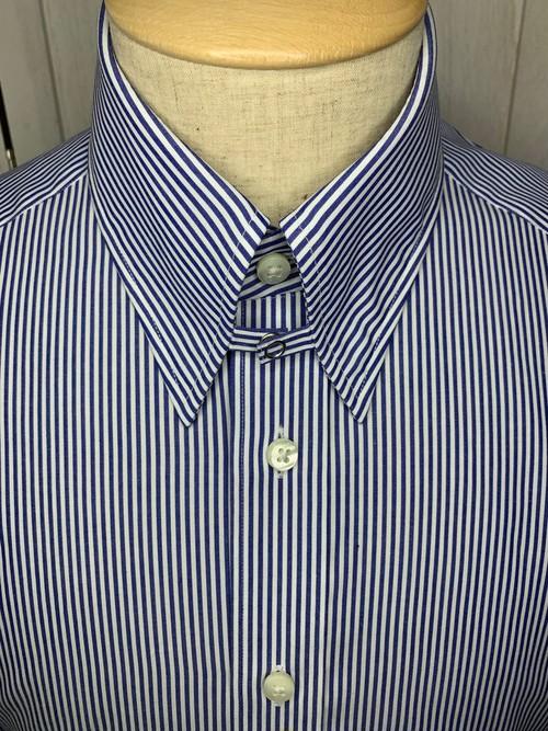 シャツ(単品)Sサイズ タブカラー ロンドンストライプ