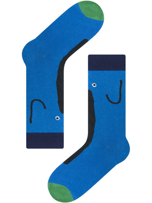 【MOGU TAKAHASHI】Blue elephant