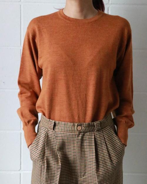 Christian Dior orange sweater