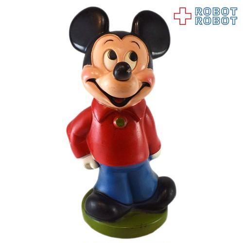 プレイパル ミッキーマウス ソフビ貯金箱 20210527入荷