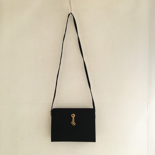vintage ITALY shoulder & clutch bag