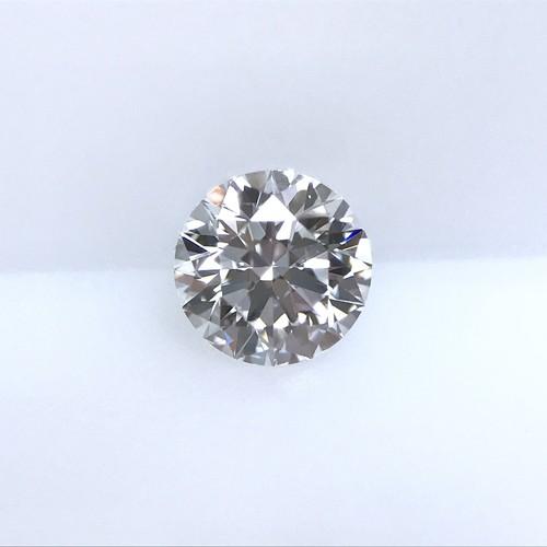 ダイヤモンド 0.308ct D VVS-1 3EX H&C Faint ラウンド