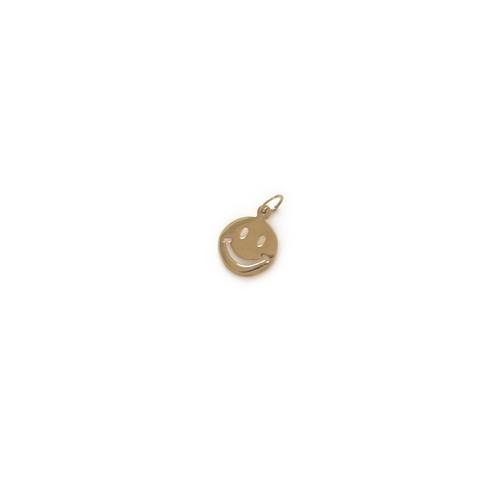 【14K-1-24】14K gold smily charm
