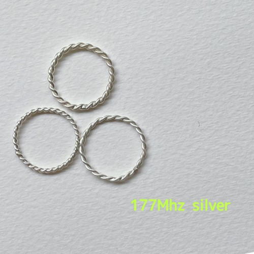 silver テンソルリング lost cubit 177Mhz  1/8size