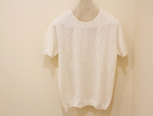MICHELACCI DANILO Slub Knit White