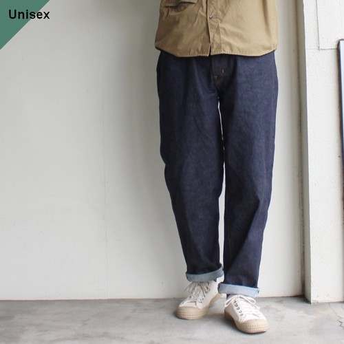 HARVESTY ビッグデニム BIG DENIM A11703(ONE WASH)
