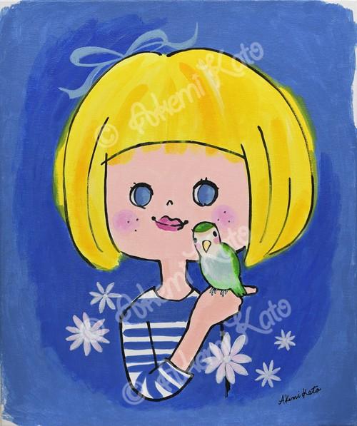 小鳥とガール/A little bird and a girl