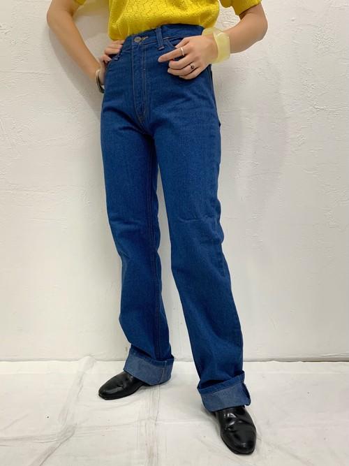 (TOYO) straight denim pants