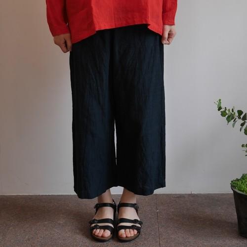会津木綿ソフトサルエルパンツ(+10cm丈) YAMMA ヤンマ産業(ダボダボパンツ)
