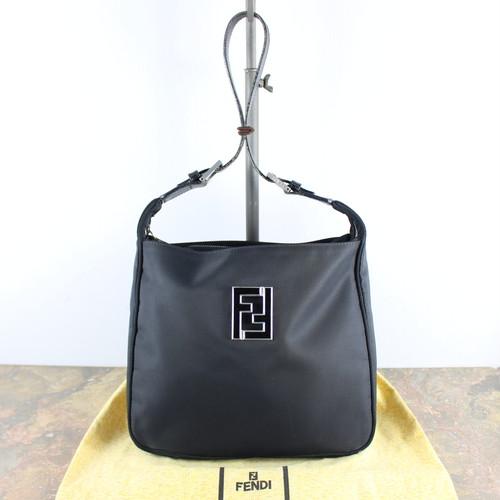 .FENDI LOGO NYLON SHOULDER BAG MADE IN ITALY/フェンディロゴナイロンショルダーバッグ 2000000049090