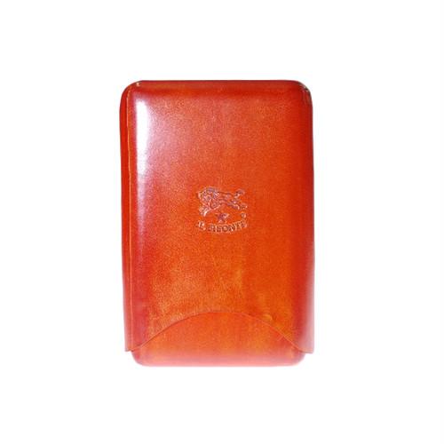 イルビゾンテ IL BISONTE カードケース メンズ C0588-C-166 オレンジ