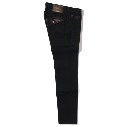 RIGID TYPE-2 DENIM PANTS<SLIM> (BLACK) / RUDE GALLERY