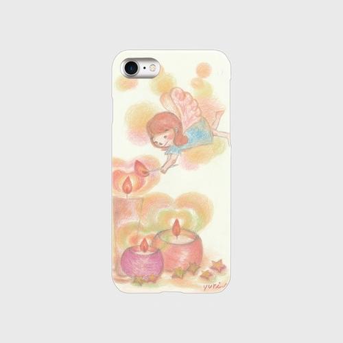iPhone7スマホケース ロウソクと妖精