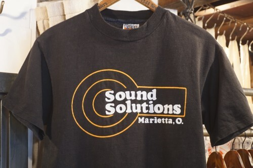 "80's SONY ""Sound Solutions"" cotton Tee"