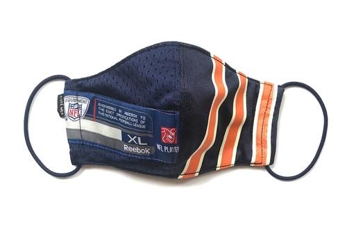 【デザイナーズマスク 吸水速乾COOLMAX使用 日本製】NFL SPORTS MIX MASK CTMR 0925116