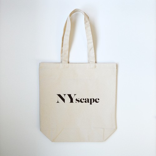 NYscape ロゴ トートバッグ【Natural】