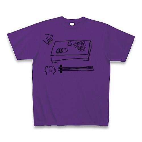 アングリーアグリTシャツ(ベジタブルパープル)