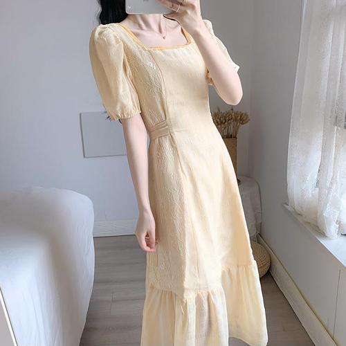 【dress】気質溢れる エレガントスウィート清新人気 デザインデートワンピース