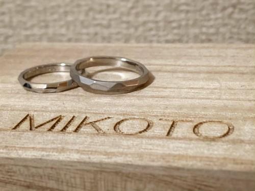 韓国人先生デボちゃん 「MIKOTOデザインリング」