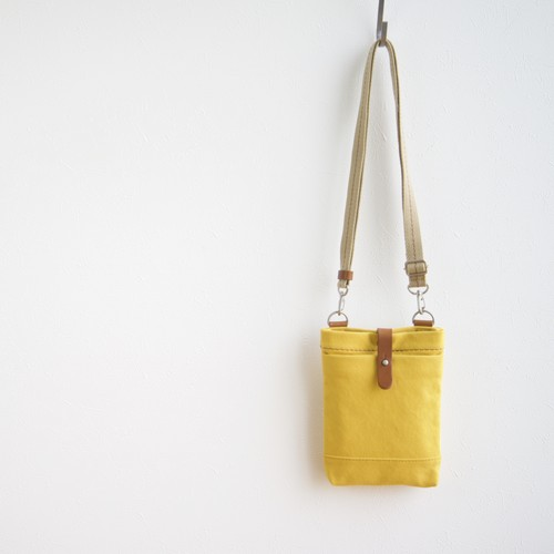 CANVAS CHALK BAG / MUSTARD