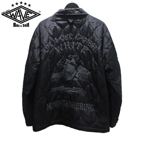 WHITE MOUNTAINEERIG 17SS QUILTED SOUVENIR JACKET【スペシャルプライス】