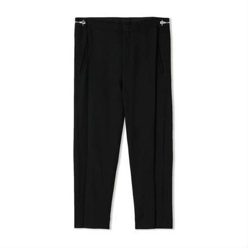 GENERAL PRODUCT RiRi-Zip Slacks Pants BLACK