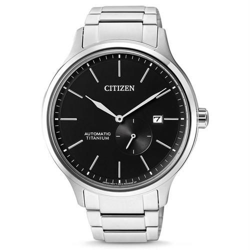 新品 CITIZEN NJ0090-81E スーパーチタニウム 自動巻 サファイア 黒 Automatic シチズン
