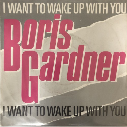 Boris Gardiner - I Wanna Wake Up With You【7-20586】