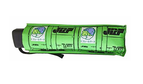 折りたたみデザイン傘 19D形式 コンテナ:緑