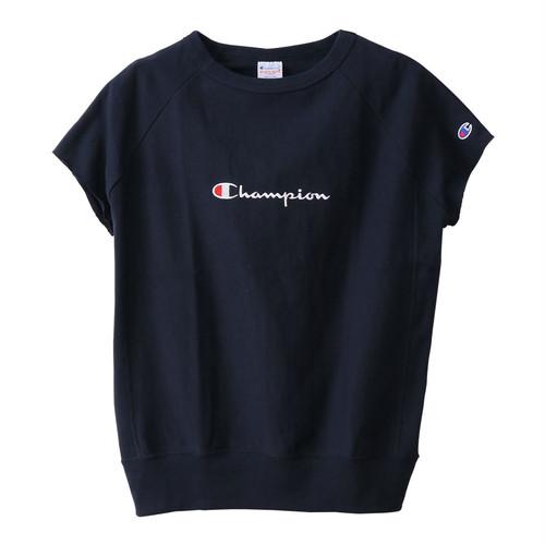 Champion (チャンピオン) ウィメンズ リバースウィーブ ノースリーブTシャツ ネイビー CW-P310