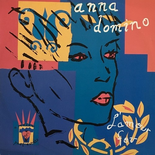 【LP・ベルギー盤】Anna Domino / L'Amour Fou