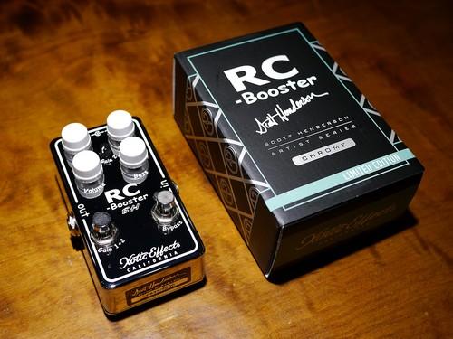 Xotic RC Booster SH - Scott Henderson Signature Limited Edition なんとまだラス1あります! / OD / 送料無料