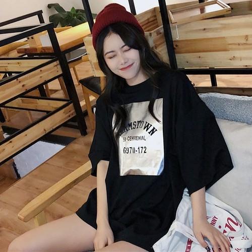 【トップス】韓国系カジュアルシンプルチャーミング海外トレンド半袖Tシャツ
