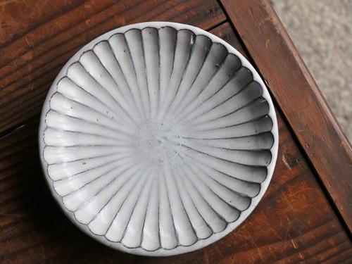 丹波立杭焼 俊彦窯 7寸平皿