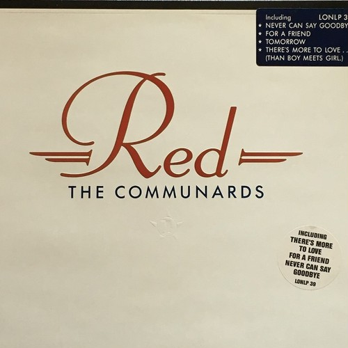 【LP・英盤】The Communards / Red